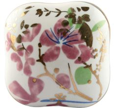 Pink Flower Square Ceramic Drawer Knob Online