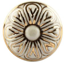 Golden Flower Ceramic Wine Stopper Online