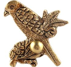 Golden Bird Brass Cabinet Knob