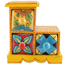 Spice Box-981 Masala Rack Container Gift Items
