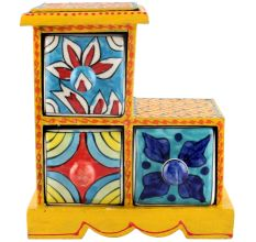 Spice Box-986 Masala Rack Container Gift Items
