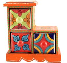 Spice Box-996 Masala Rack Container Gift Items