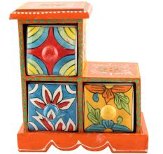 Spice Box-997 Masala Rack Container Gift Items