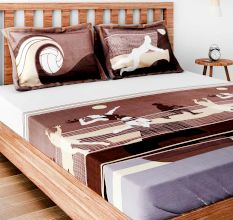Bombay Dyeing Spree Bedsheet With Two Pillow Covers