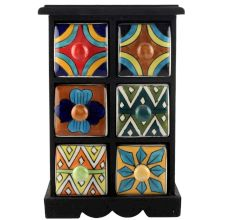 Spice Box-1181 Masala Rack Container Gift Items