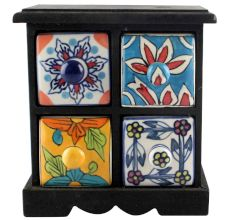Spice Box-1186 Masala Rack Container Gift Items