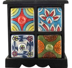 Spice Box-1197 Masala Rack Container Gift Items