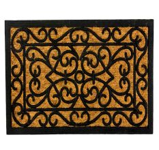 SWHF Rubber and Coir Mat: Rectangle