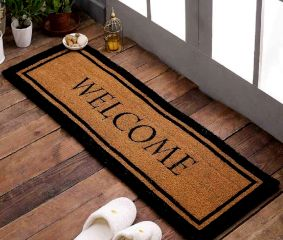 SWHF Extra Large Printed Double Door and Floor Mat : Welcome