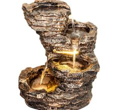 Pahadi  Water Fountain With 3 Bowl