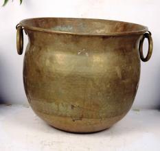 Bronze Planter-12.5 X 17 Inches
