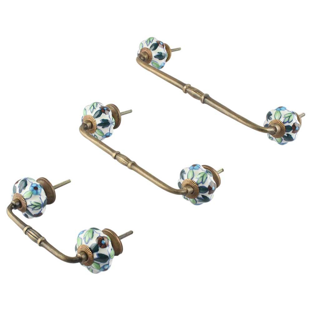 okra resin earring