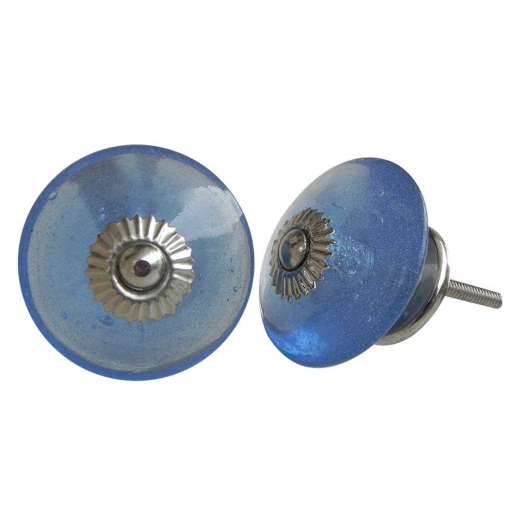 Steel Blue Wheel Knob