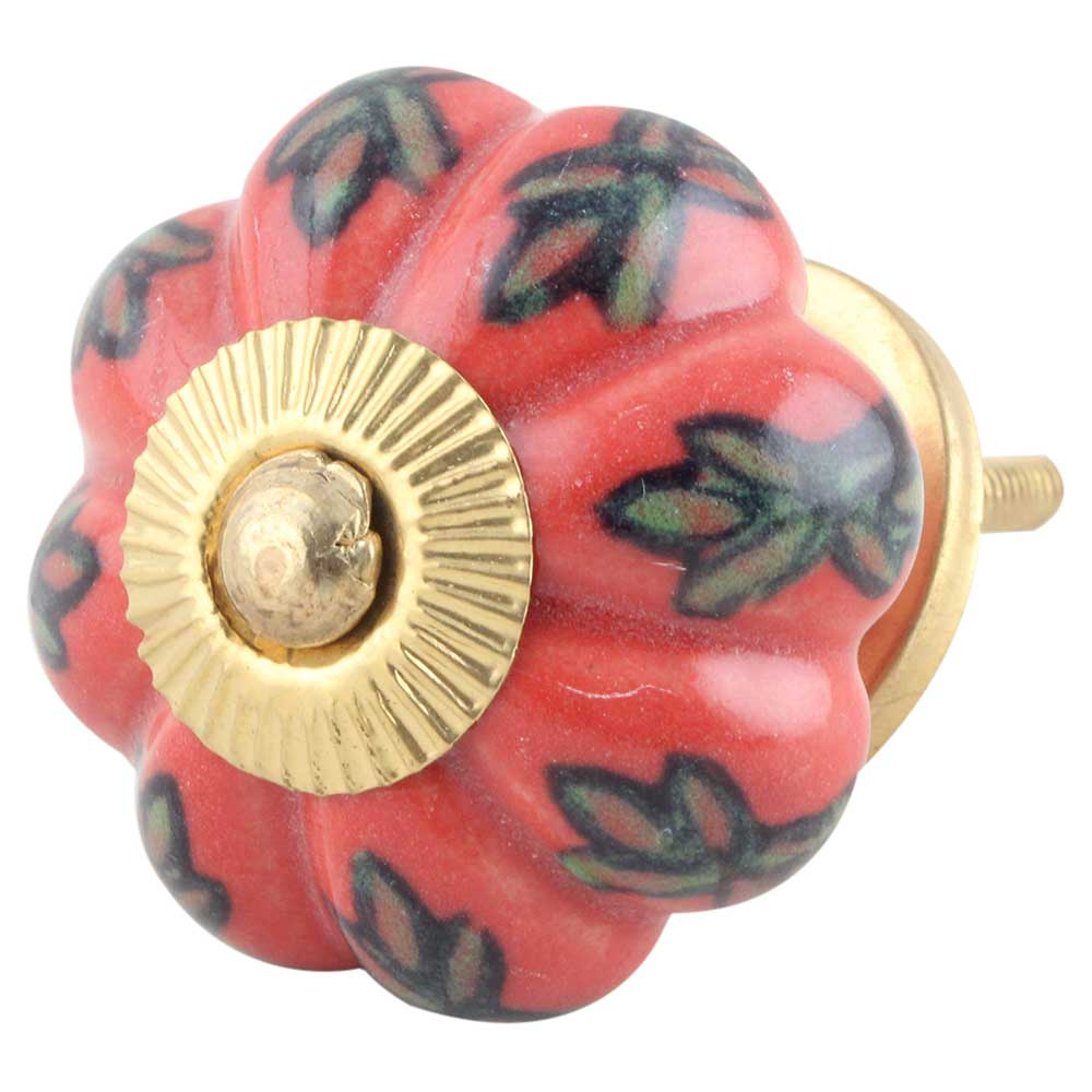 Sunset Ceramic Melon Knob