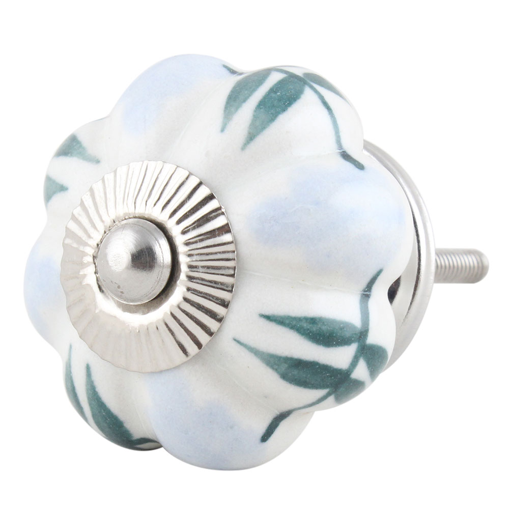 Light Blue Melon Knob
