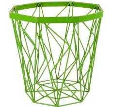 Metal Basket In Light Green