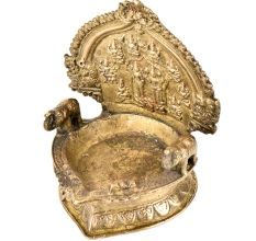 Traditional Laxmi Narayan Brass Lamp