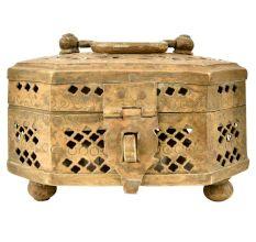 Handmade Brass Jewellery Box