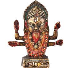 Brass Goddess Kali Statue Kalighat Kali Brass Statue