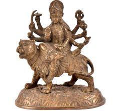 Brass Durga Statue Lord Amba Ji  Puja Statue