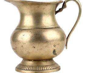 Handmade Brass Jug With Handle Kitchen Decoration Pitcher