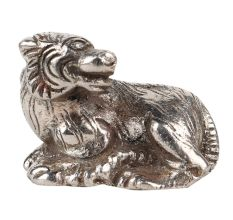 Aluminum Sitting Grizzly Bear Statue Home Decoration Statue