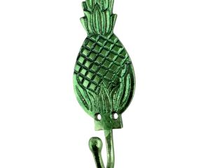 Green Pineapple Iron Hook