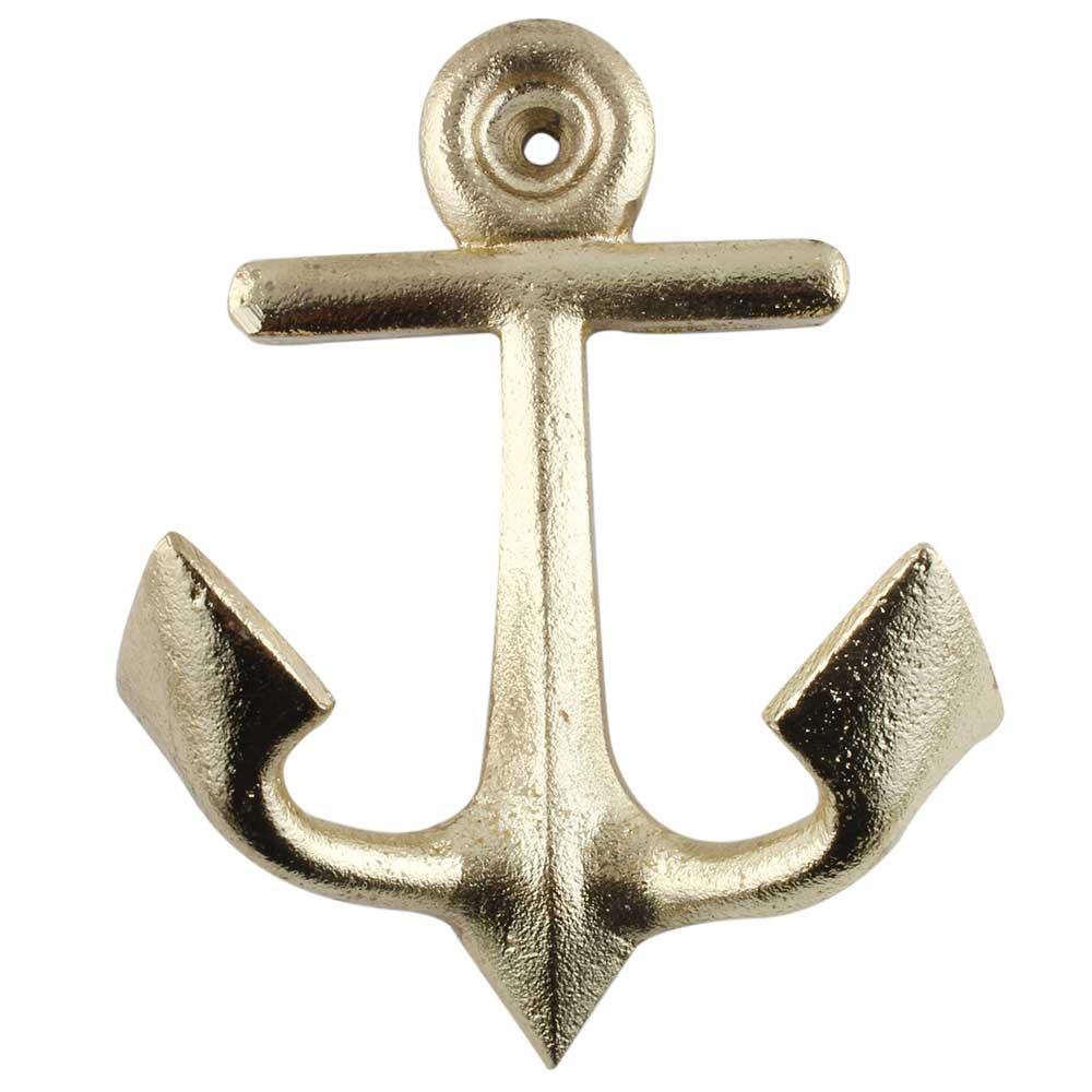 Golden Anchor Iron Hook