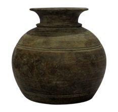 Hand Made Wooden Pot-07