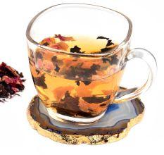 Organic Tea Whole Leaf Rose Black Tea