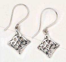 Mystic Celtic Knots 92.5 Sterling Silver Earrings