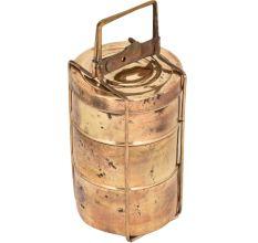 Vintage Brass made Lunch Box