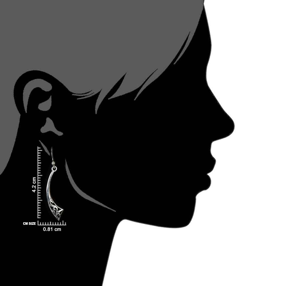 Contemporary 92.5 Sterling Silver Earrings For girls