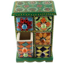 Spice Box-1455 Masala Rack Container Gift Item