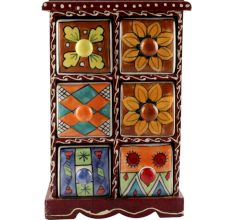 Spice Box-1466 Masala Rack Container Gift Item