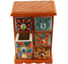 Spice Box-1471 Masala Rack Container Gift Item
