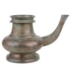Brass Holy Water Pot Or Poja kamandal With Patina