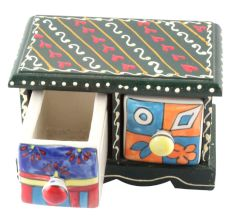 Spice Box-1477 Masala Rack Container Gift Item