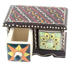 Spice Box-1485 Masala Rack Container Gift Item