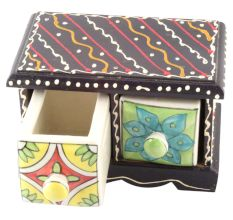 Spice Box-1487 Masala Rack Container Gift Item