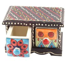 Spice Box-1488 Masala Rack Container Gift Item