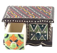 Spice Box-1489 Masala Rack Container Gift Item