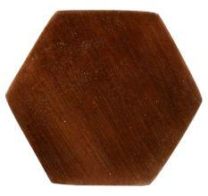 Metallic Brown Hexa Iron Cabinet Knob