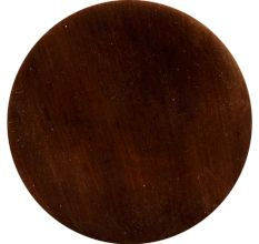 Metallic Brown Round Iron Cabinet Knob