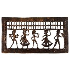 Tribal Art Wall Hanging Tribal Farmer Dancer And Musician Decorative Top
