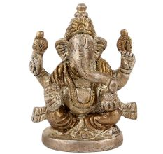 Brass Ganesha Statue For Temple Worship