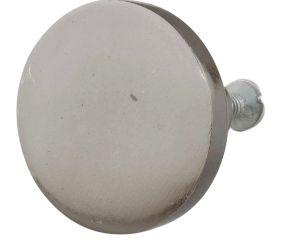 Platinum Grey Round Iron Cabinet Knob