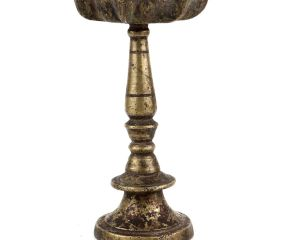 Brass Oil Lamp Stand 7 Wicks Traditional Decoration