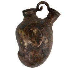 Old Handmade Mango shape Islamic Style Hookah Pot