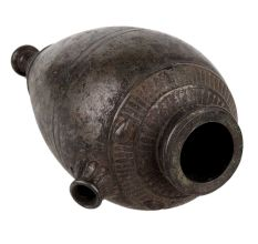 Brass Oval Drop Brass Islamic Hook Base Pot